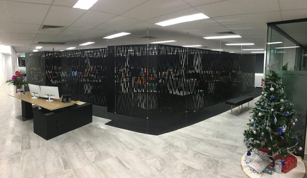 Aluminium suspended wall screens 6