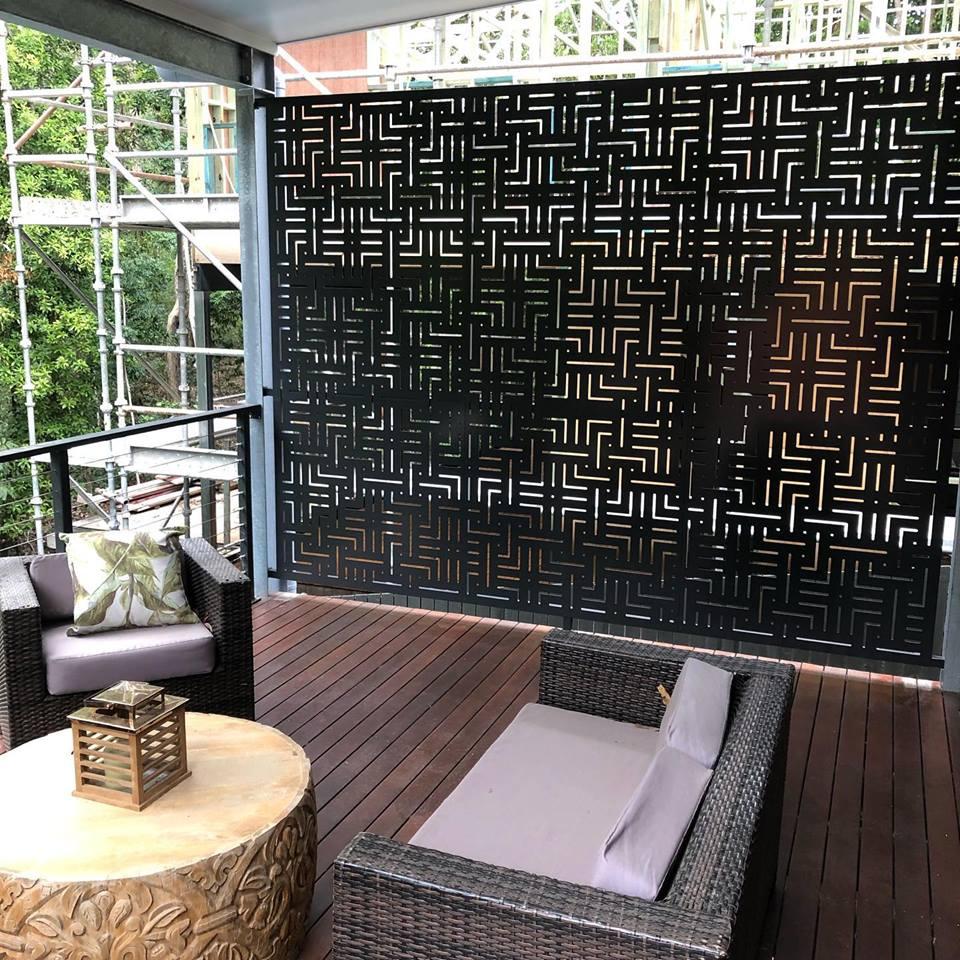 Aluminium screens
